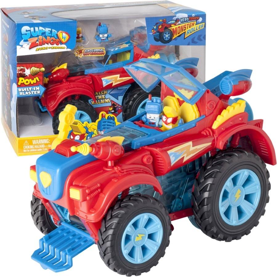 Superzings 1, hero truck monster roller, pojazd superbohaterów Smyk 6549160