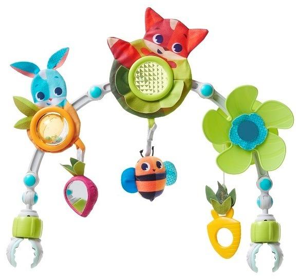 Tiny love, zabawa na łące, łuk z zabawkami Smyk 6214445