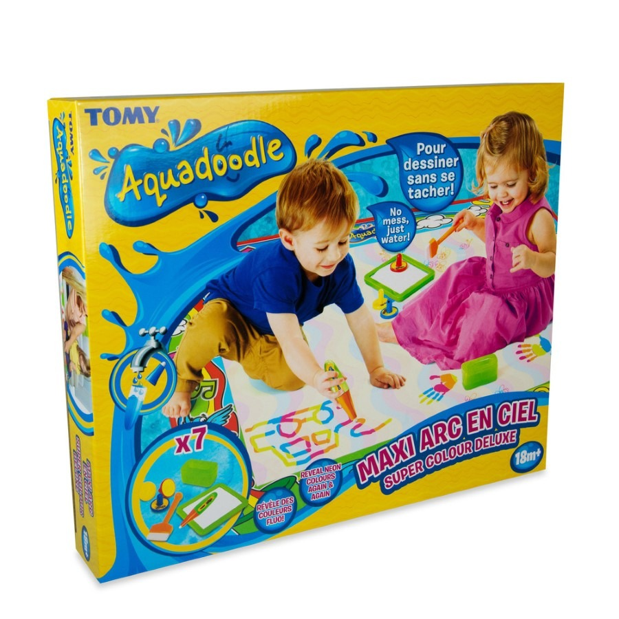 Tomy Aquadoodle Super Colour Deluxe Mata Do Malowania Woda Smyk Com