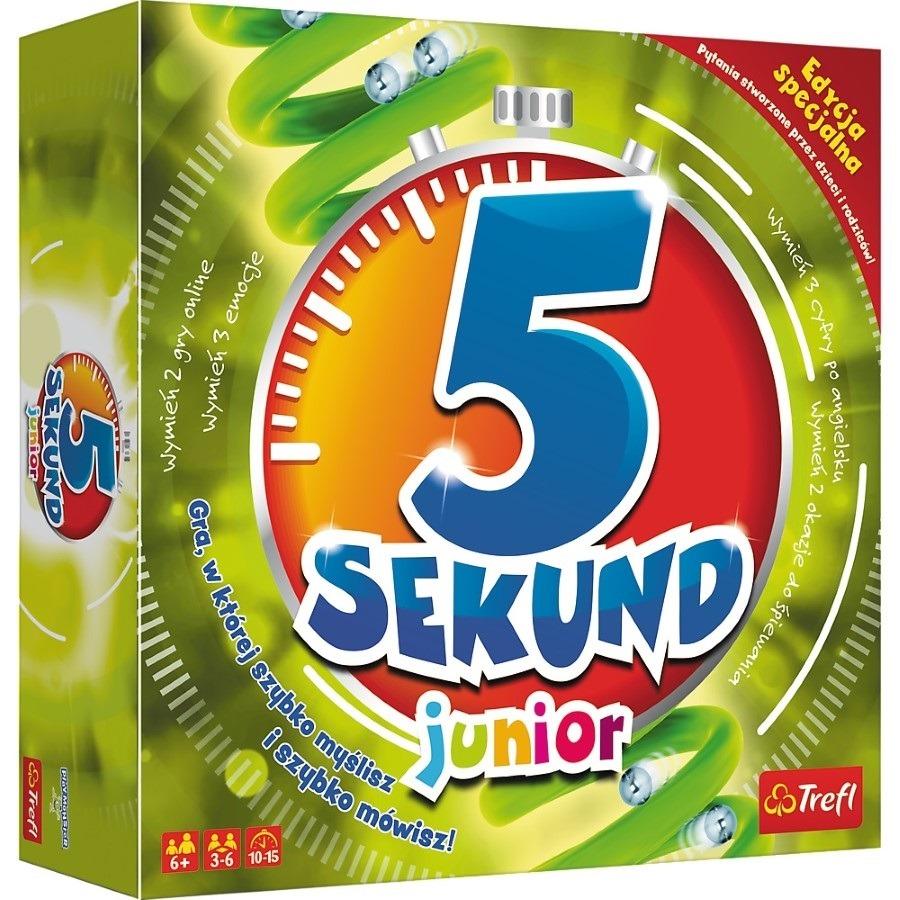 Trefl, 5 sekund junior 2.0 edycja specjalna, gra familijna Smyk 6413989