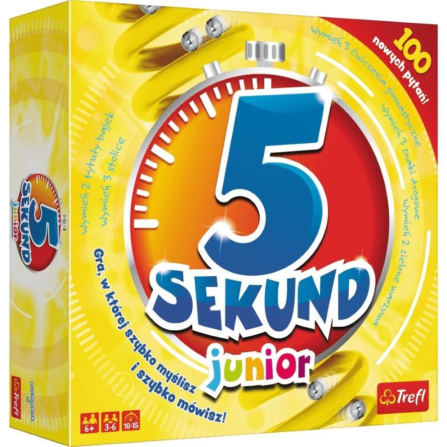 Trefl, 5 sekund junior, gra familijna Smyk 5704581
