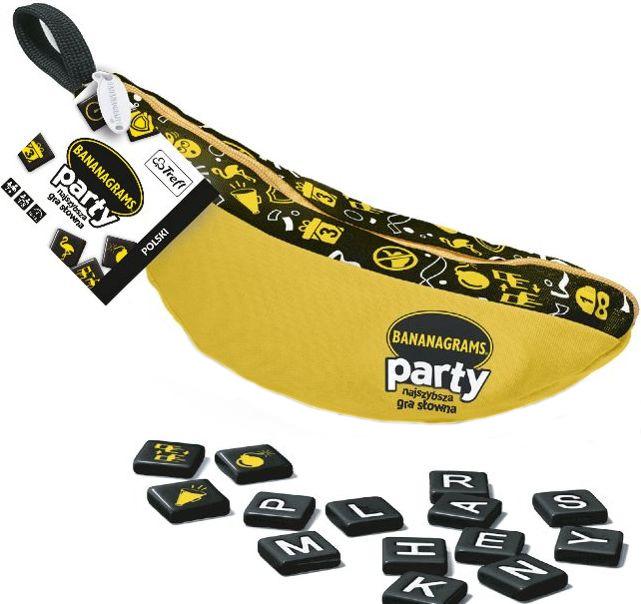 Trefl, bananagrams party, gra słowna Smyk 6310441