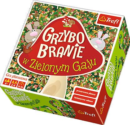 Trefl, grzybobranie w zielonym gaju, gra familijna Smyk 5772032