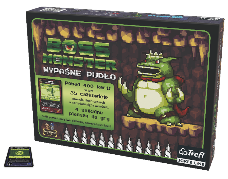 Trefl joker line, boss monster wypaśne pudło, gra karciana Smyk 6566287