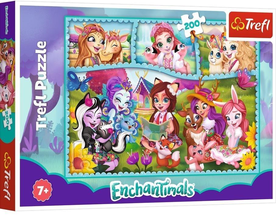 Trefl, niezwykły świat enchantimals, puzzle, 200 elementów Smyk 6634476
