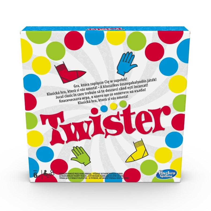 Twister, gra towarzyska Smyk 4662894