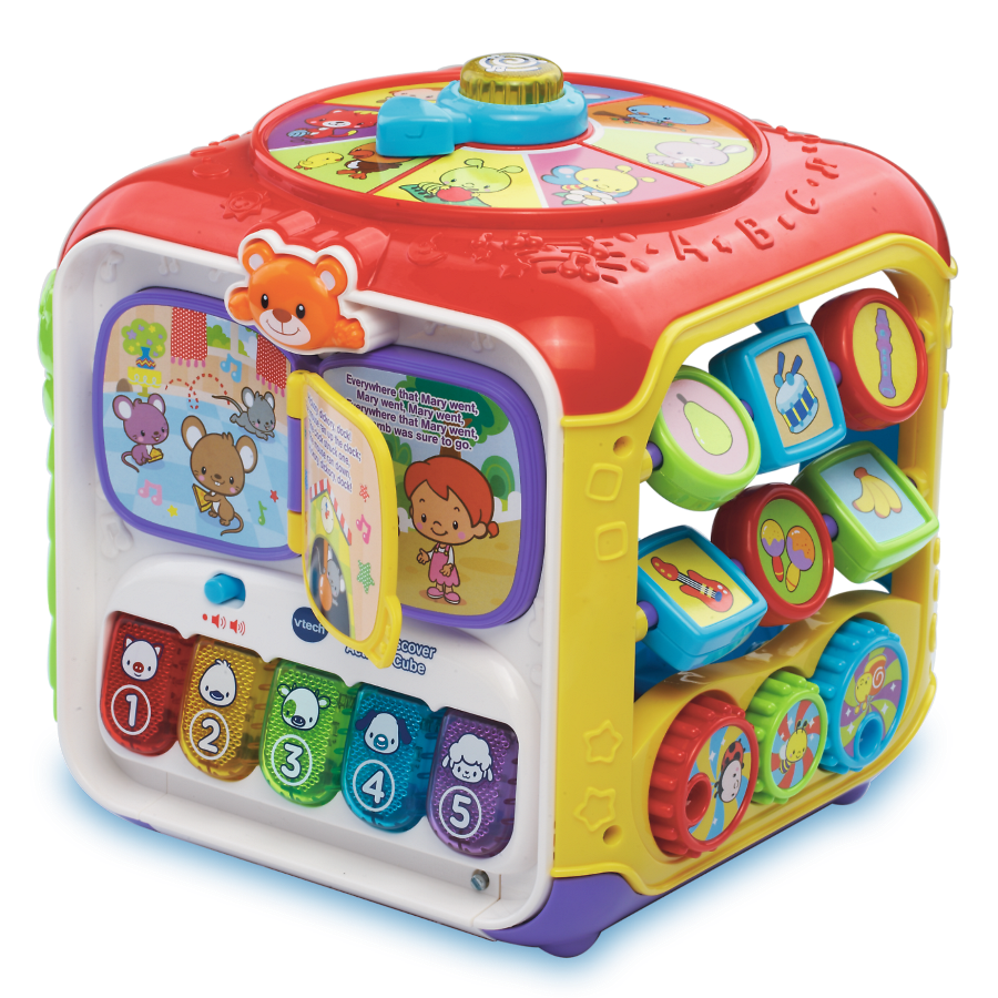 Vtech, kostka aktywności, zabawka interaktywna. Smyk 6268597
