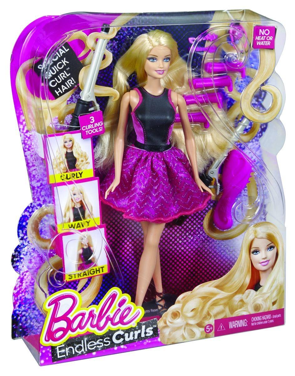 Barbie Wspaniałe Fryzury Barbie Lalka