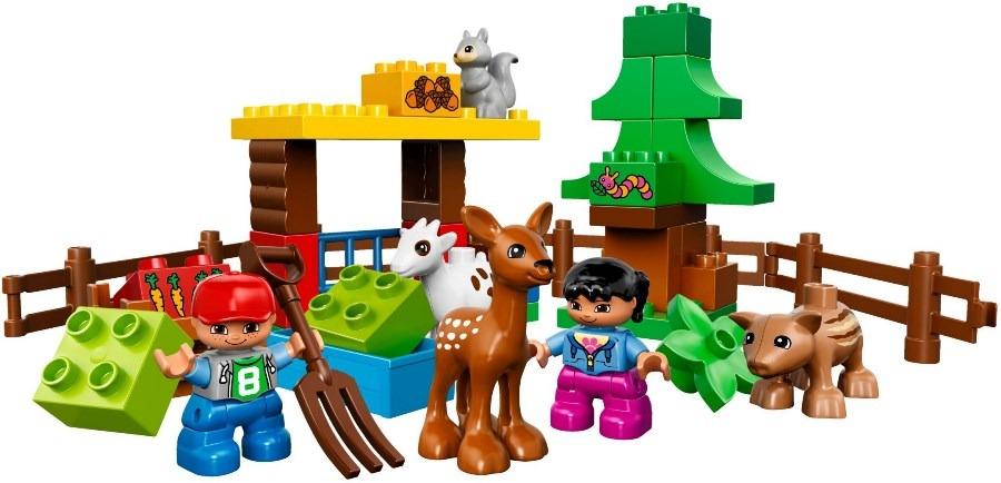 LEGO DUPLO, Leśne zwierzęta, 10582