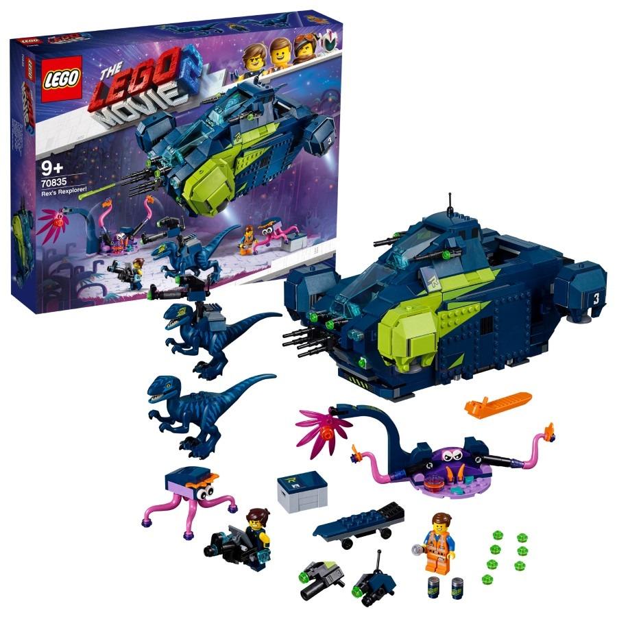 LEGO Movie 2, Rexplorer Rexa!, 70835