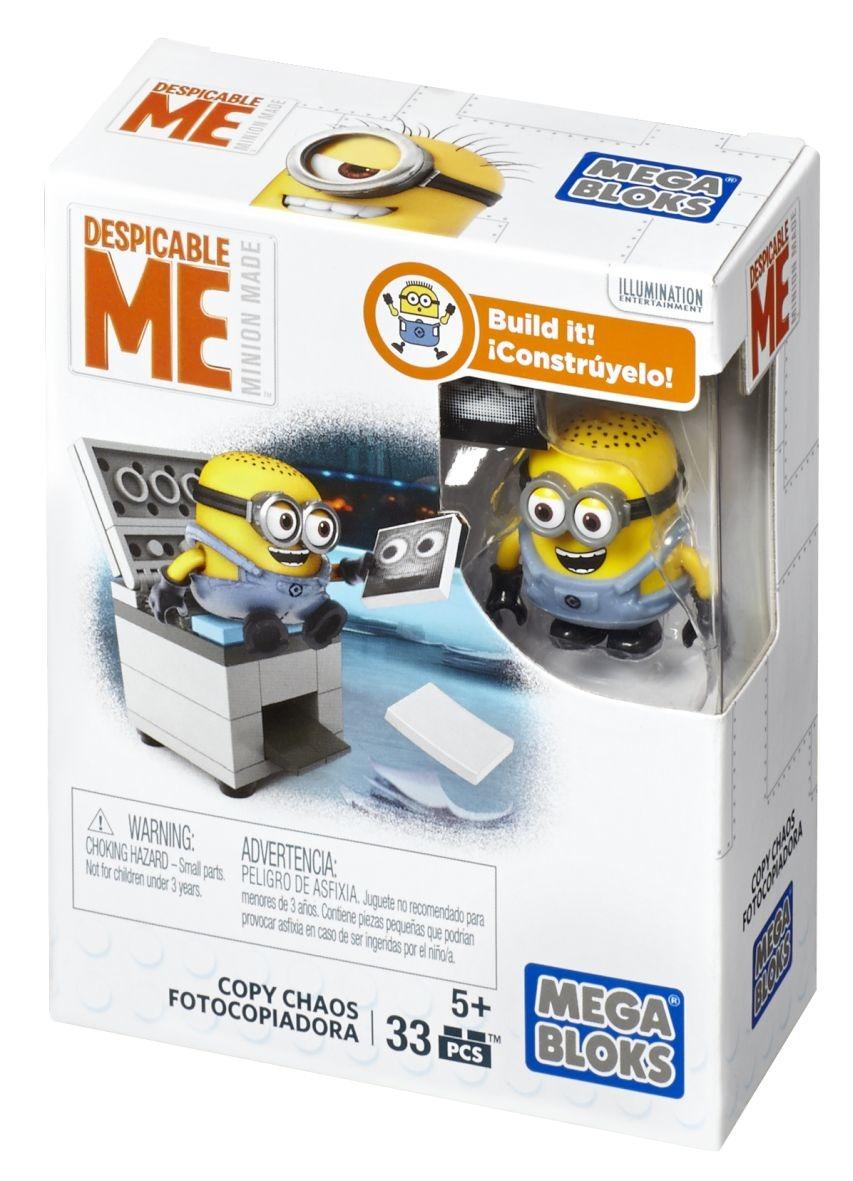 Mega Bloks, Minionki, kopiarka, minizestaw klocków, 33
