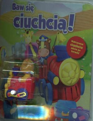 Baw się ciuchcią! Rozkładana plansza z trasą dla zabawki
