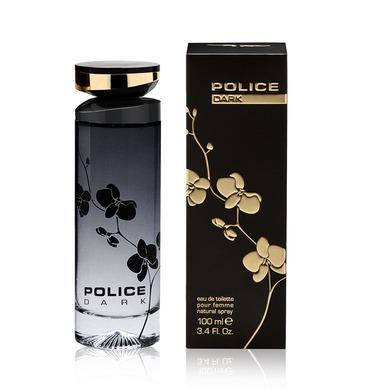 police dark woman