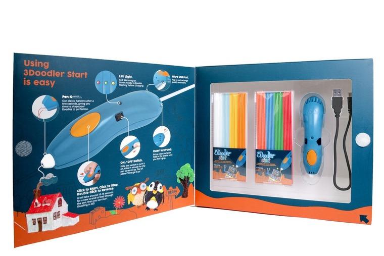 3Doodler, długopis 3D, zestaw podstawowy
