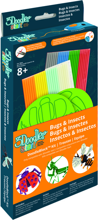 3Doodler, Robaki, zestaw szablonów
