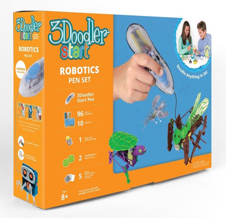 3Doodler, Roboty, długopis 3D