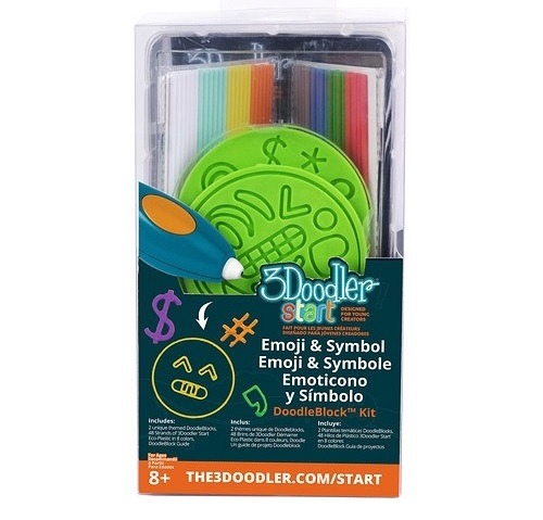 3Doodler, Symbole, zestaw szablonów do długopisu 3D