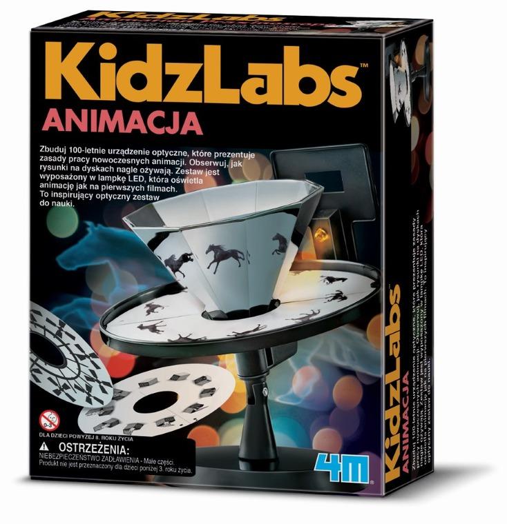 4M, Animacja, zestaw naukowy