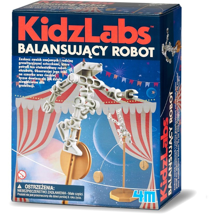 4M, Balansujący robot, zestaw naukowy