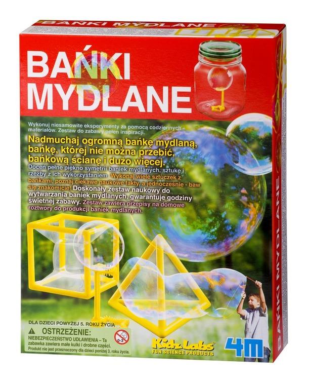 4M, Bańki mydlane, zestaw kreatywny