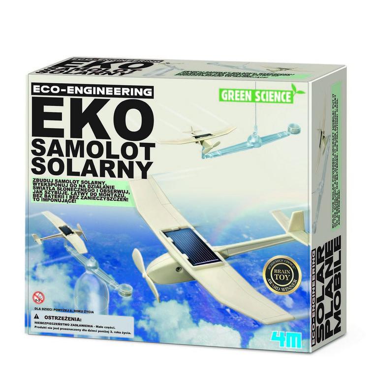 4M, Eko samolot solarny, zestaw naukowy