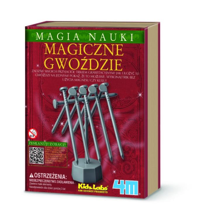 4M, Księga I, magiczne gwoździe, zestaw kreatywny