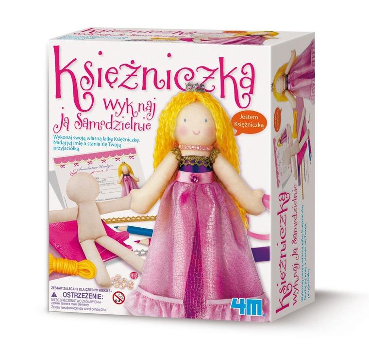 4M, lalka księżniczka, zestaw kreatywny