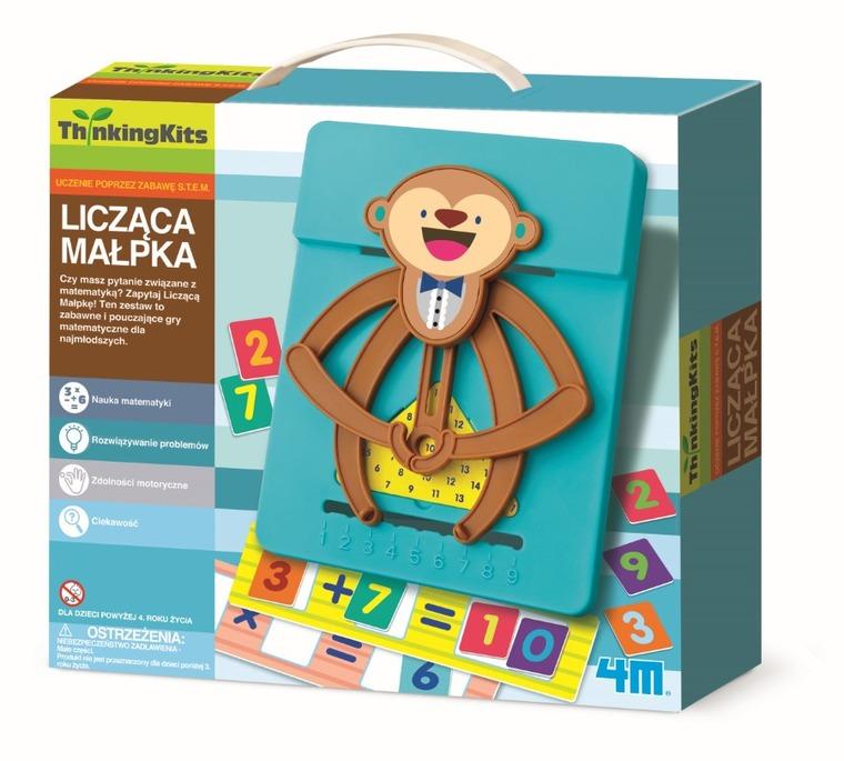 4M, licząca małpka, zabawka edukacyjna