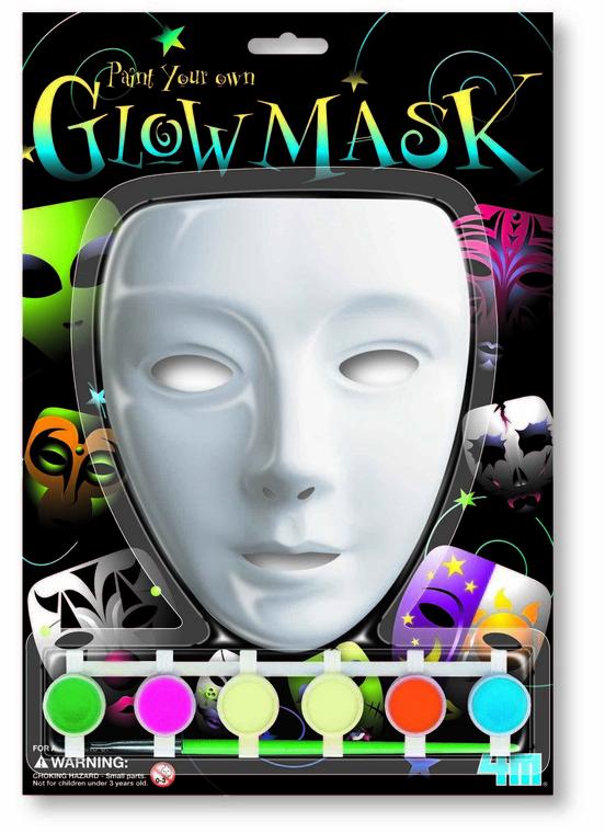 4M, Maska glow, zestaw kreatywny