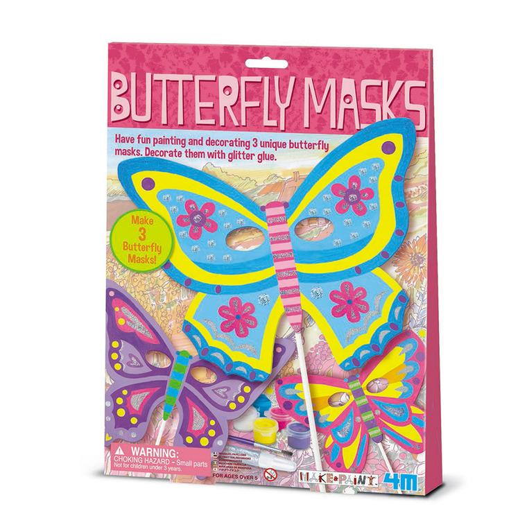 4M, maska motyla, zestaw kreatywny