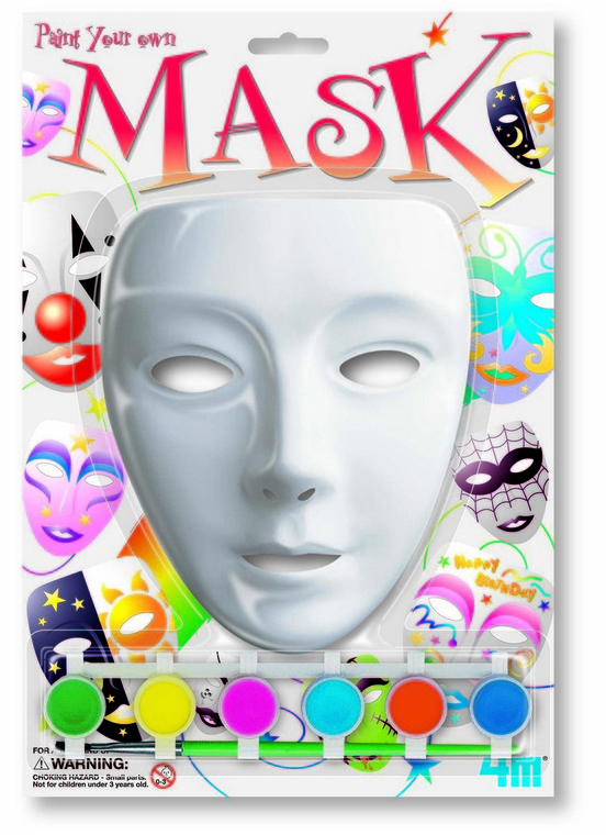 4M, maska, zestaw kreatywny