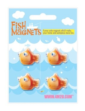 4M, mini magnesy, rybki