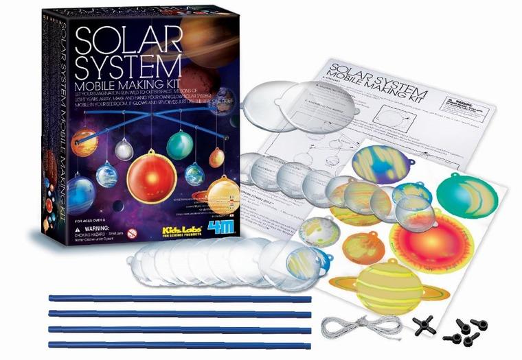 4M, mobilny układ słoneczny, zestaw kreatywny