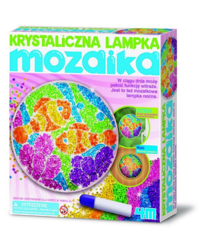 4M, Mozaikowa lampka, zestaw kreatywny