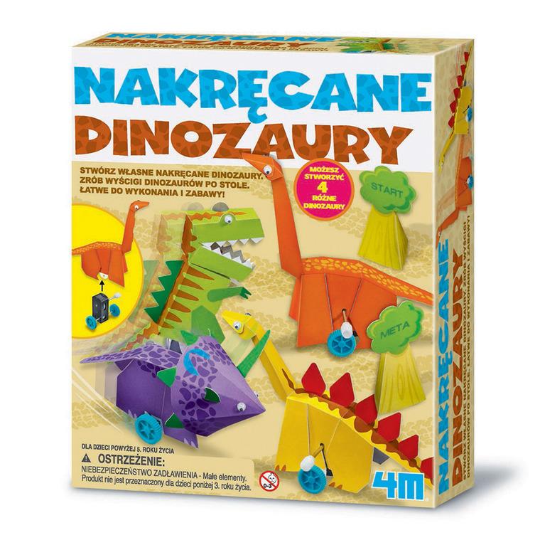 4M, Nakręcane dinozaury, zestaw kreatywny