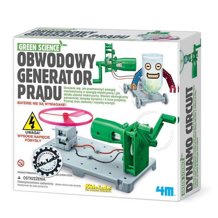 4M, Obwodowy generator prądu, zestaw kreatywny