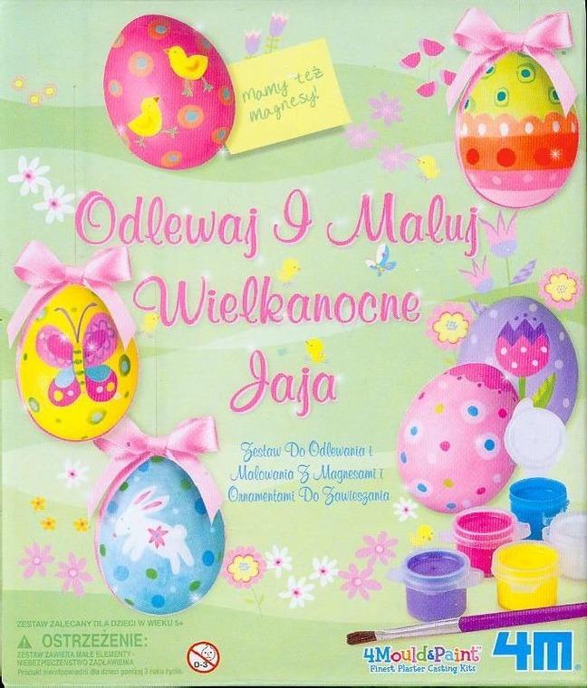 4M, Odlewaj i Maluj Wielkanocne jaja, zestaw kreatywny