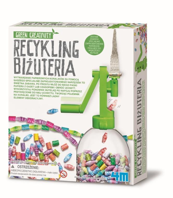 4M, recykling, biżuteria, zestaw kreatywny
