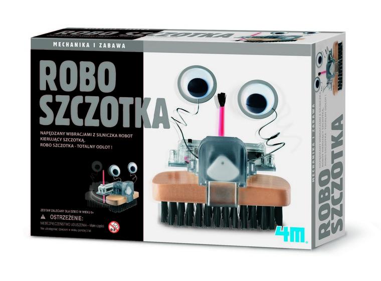 4M, Robo szczotka, zestaw kreatywny