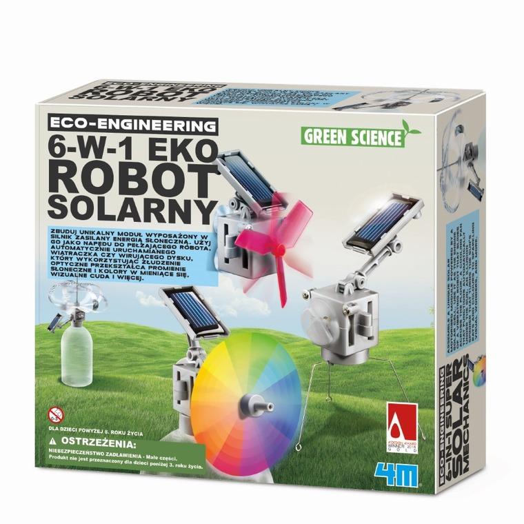 4M, Robot solarny eko, 6w1