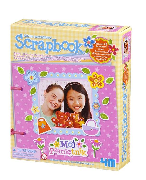 4M, Scrapbook - pamiątkowy album, zestaw kreatywny