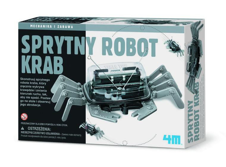 4M, Sprytny robot krab, zestaw kreatywny