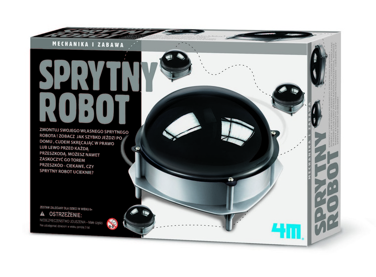 4M, Sprytny robot, zestaw kreatywny