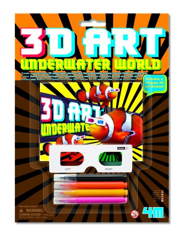4M, Stwórz trójwymiarowy świat podwodny, zestaw kreatywny