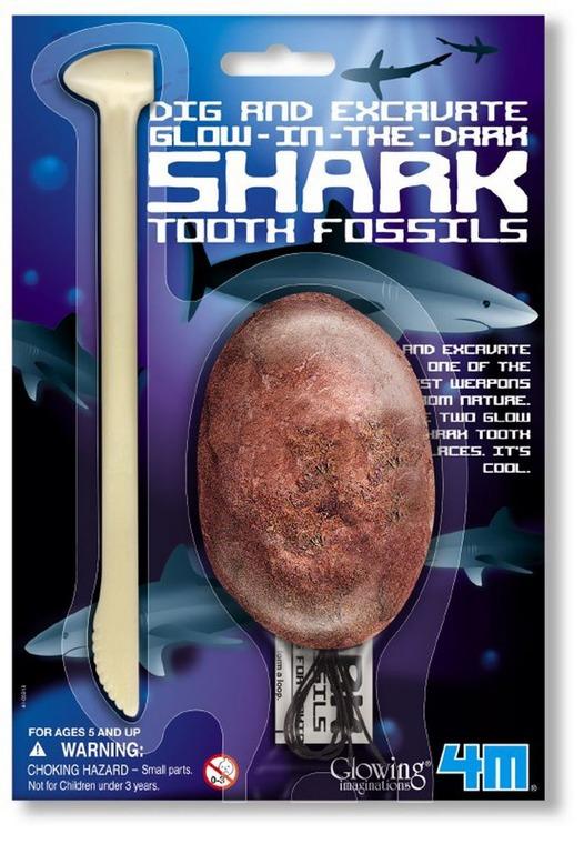 4M, świecący ząb rekina, zestaw kreatywny
