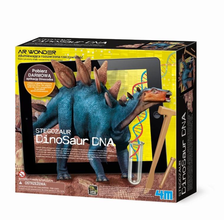 4M, Zestaw kreatywny, DNA dinozaurów, Stegozaur
