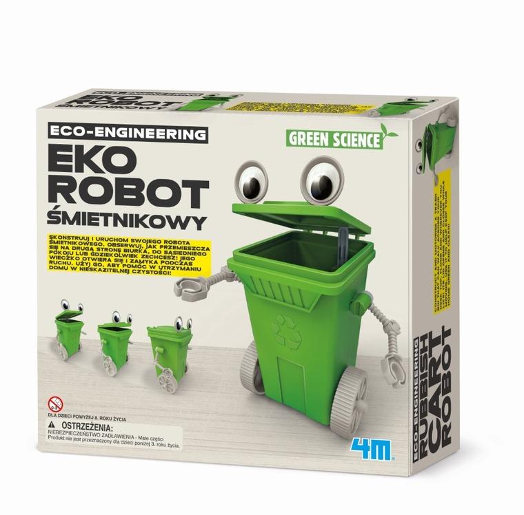 4M, Zestaw kreatywny, Eko-robot śmietnikowy
