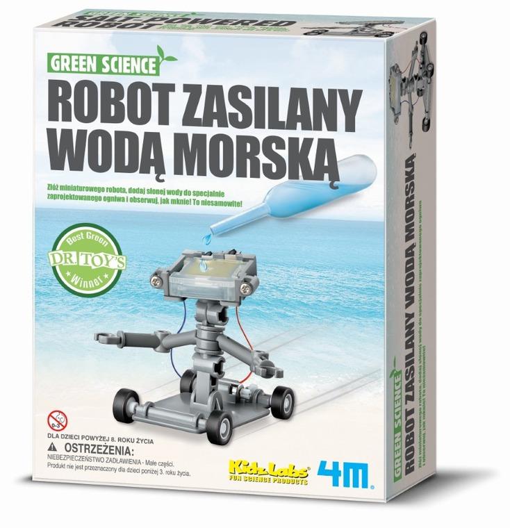 4M, Zestaw kreatywny, Robot zasilany wodą morską