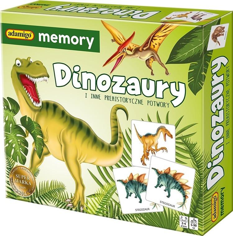 Adamigo Memory Dinozaury