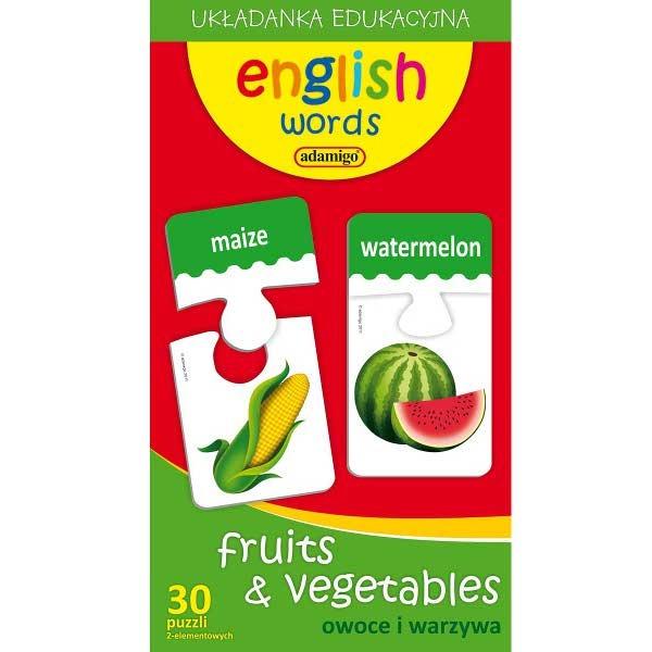 Adamigo, Owoce i warzywa, zestaw edukacyjny